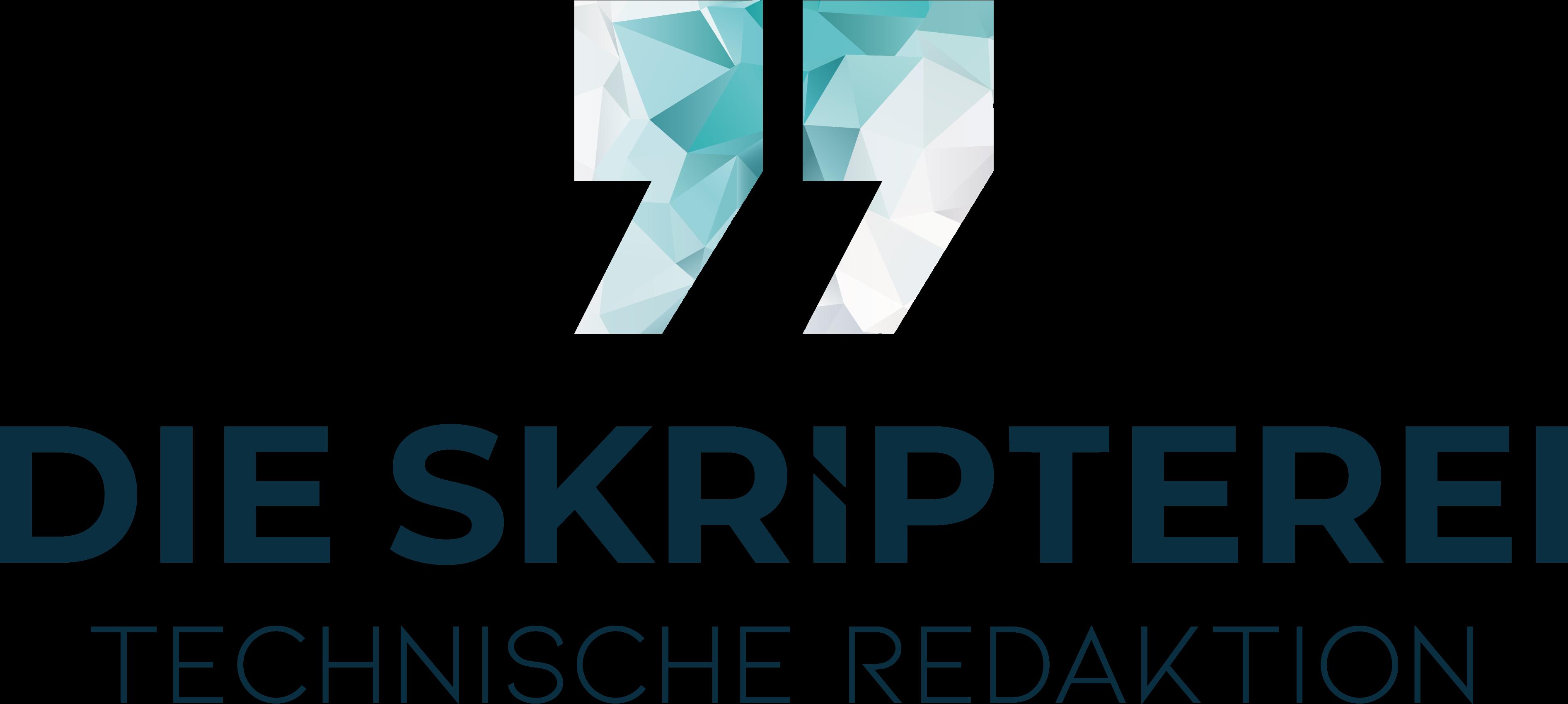 Das Logo Die Skripterei Technische Redaktion